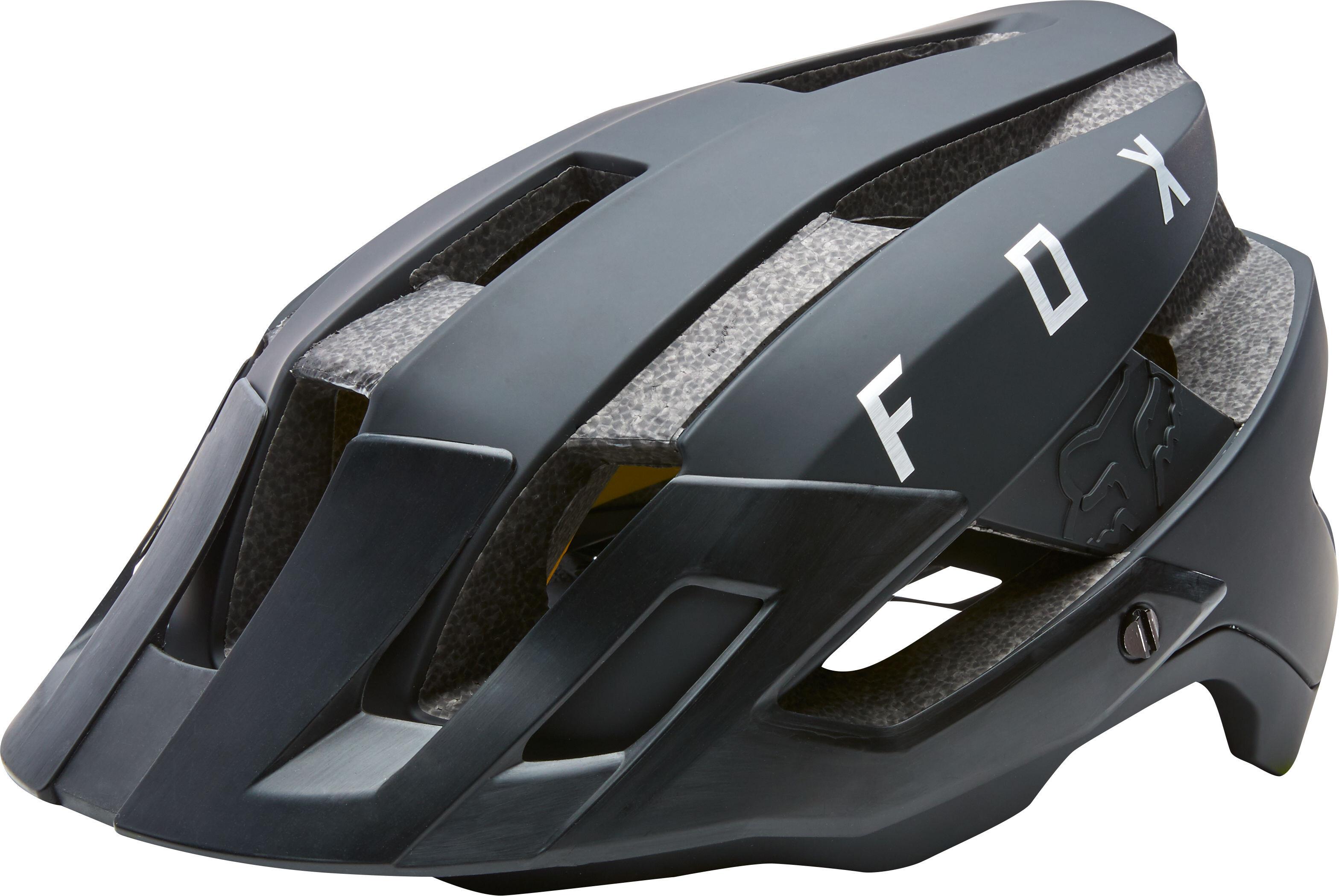 Fox Flux - Casco de bicicleta Hombre - negro  18bbbd64d90